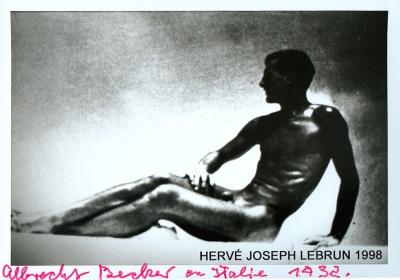 Albrecht Becker, Brindisi 1932, Hervé Joseph Lebrun 1998