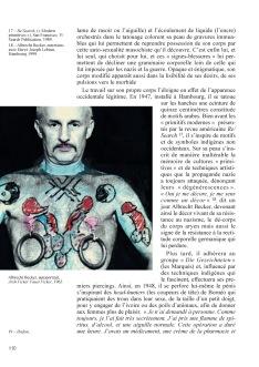 Becker, le marqué (Becker der Gezeichnete), Quasimodo #7 (« Modifications corporelles »), printemps 2003, Montpellier, p.110 — Albrecht Becker — Hervé Joseph Lebrun — Prune Chanay