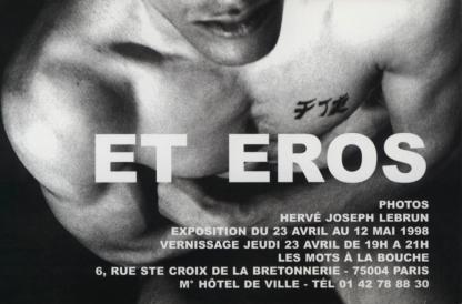 Et Eros — Hervé Joseph Lebrun — Les Mots à la Bouche — 23/04/1998