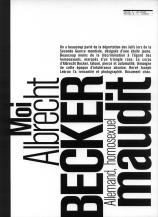Mad #4 (2000) : Moi, Albrecht Becker, Allemand homosexuel maudit, p83 — Hervé Joseph Lebrun