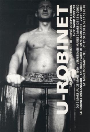U-Robinet — Hervé Joseph Lebrun — Le Robinet Mélangeur — 02/03/1999 — Avec David Defever