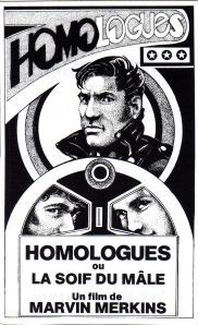 Affiche Homologues ou La Soif du mâle (Jacques Scandelari, 1977)