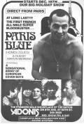American Poster of the movie Homologues ou La Soif du mâle (Paris Blue, Jacques Scandelari, 1977)